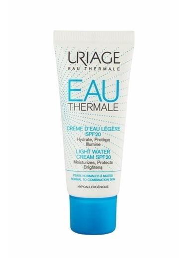 Uriage URIAGE Eau Thermale Creme D'eau Legere SPF20 40 ml Renksiz
